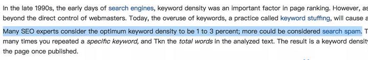 泰州外贸网站google优化中关键词密度控制在多少比较好?插图2